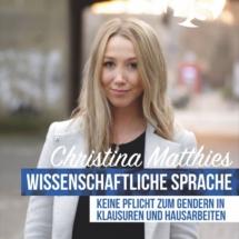 Listenplatz 3 - Christina Matthies